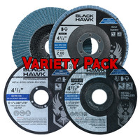 Black Hawk Variety (5 Cutting, 1 Grinding & 2 Flap Discs)