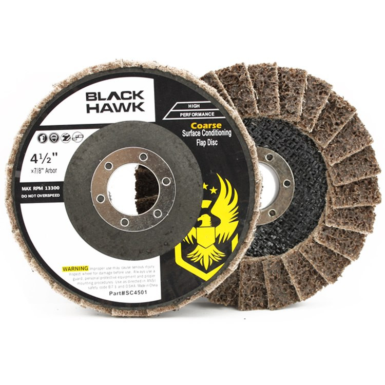 Black Hawk Abrasives Surface Conditioning Flap Disc - Tan