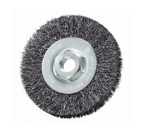"4"" x 5/8""-11 Crimped Wire Wheel Brush (Carbon Steel)"
