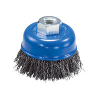 "2-3/4"" x 5/8""-11 Crimped Wire Cup Brush"