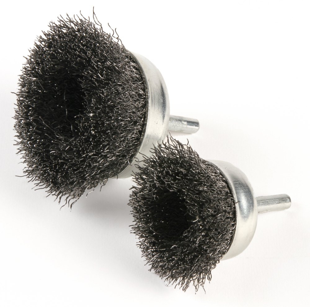 Crimped Cup Brush with Shank