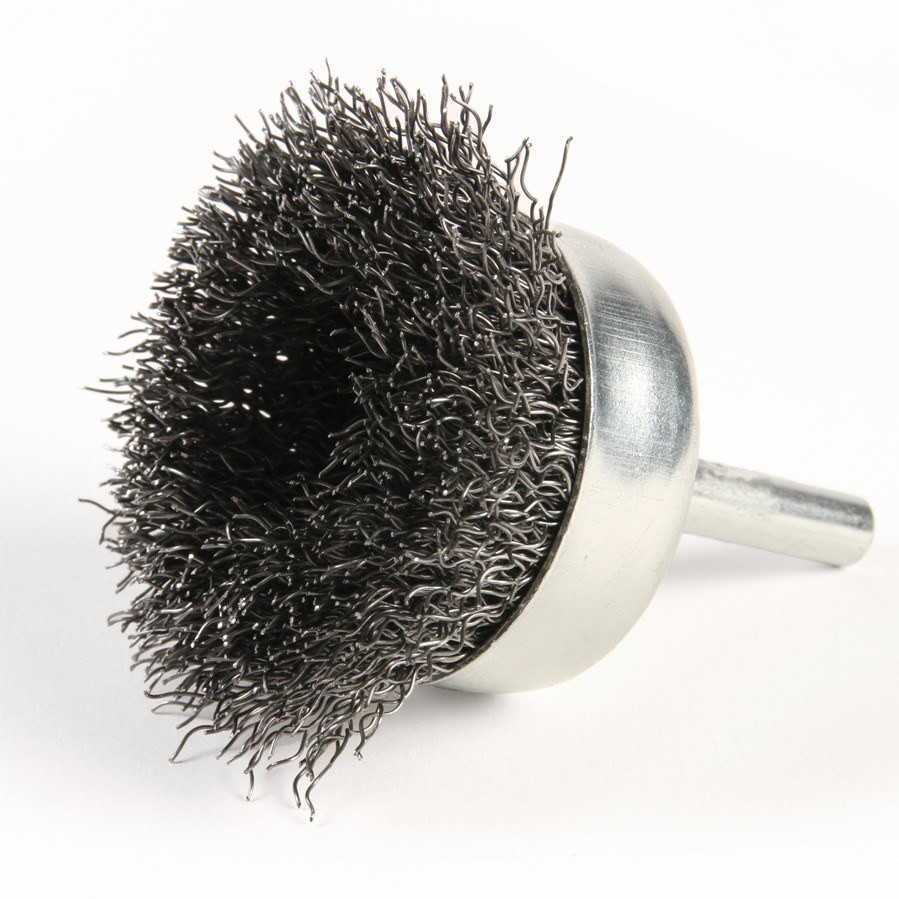 Crimped Wire Cup Brush with Shank