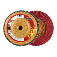 "4-1/2"" x 5/8-11"" Hub Trimmable Ceramic Flap Disc T27"