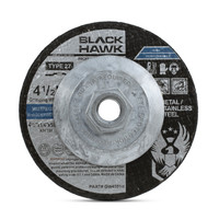 "4-1/2"" x 1/4"" x 5/8""-11 Grinding Disc with Hub"