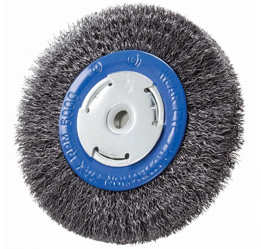 "6"" Crimped Wire Wheel for Pedestal Grinder"