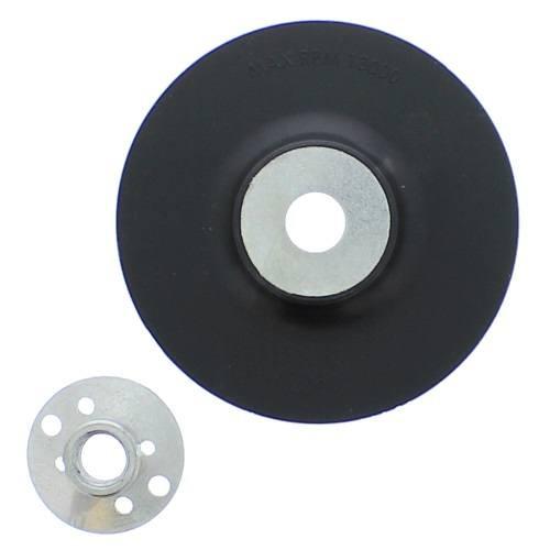 "4-1/2"" Resin Fiber Disc Backing Pad Flexible Rubber"