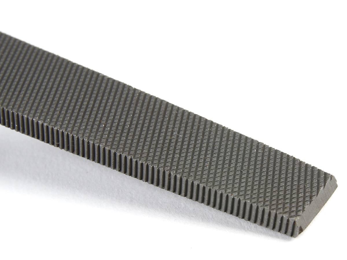4 inch flat file bastard double cut