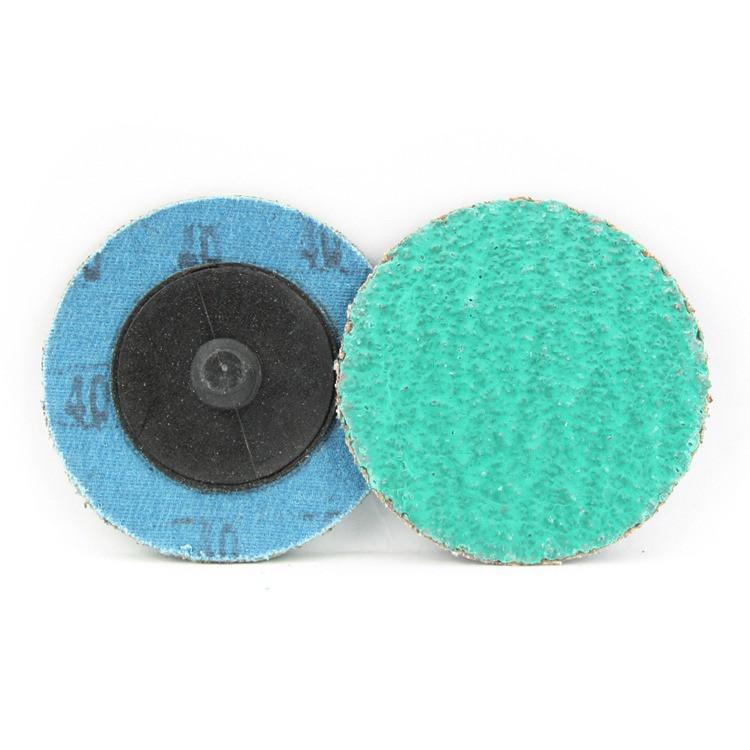 2 inch roloc sanding disc green zirconia 40 grit