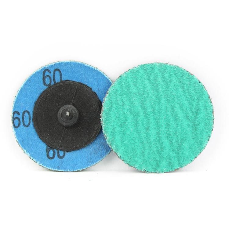 "100 Pack 2/"" 60 Grit A//O Quick Change Sanding Disc Black Hawk Type R Roloc"