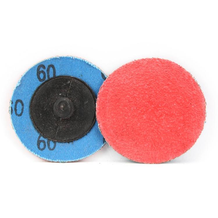 60 grit ceramic quick change sanding disc