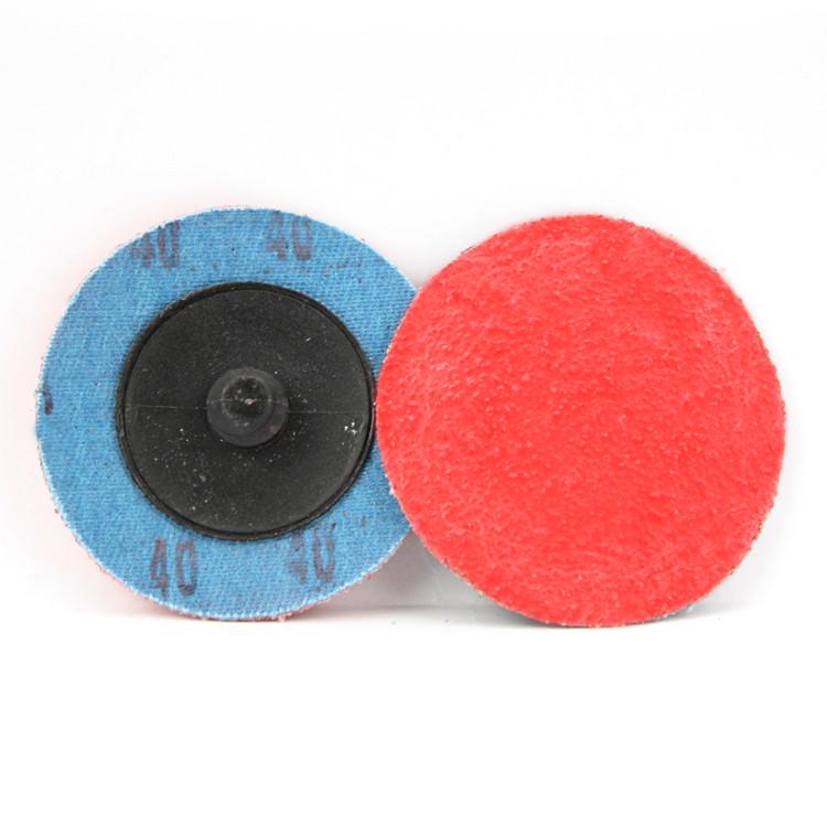 40 grit ceramic quick change sanding disc