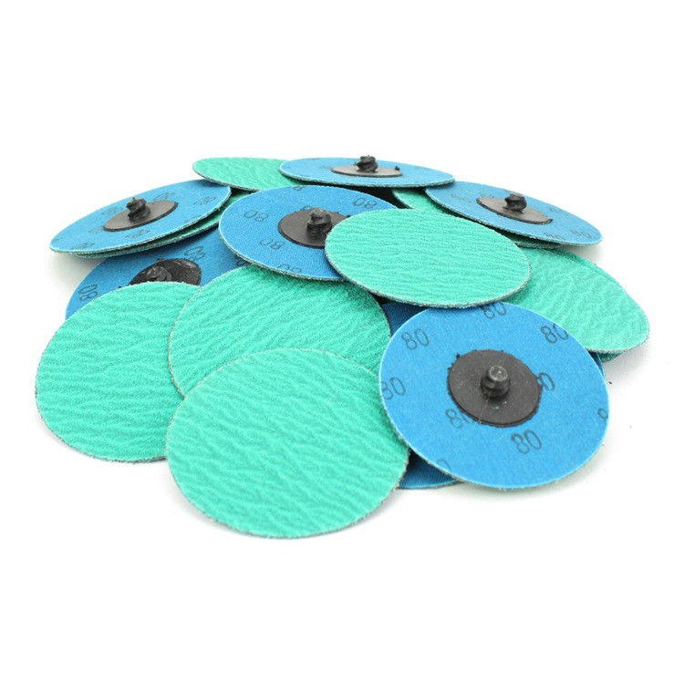 Quick Change Sanding Disc Green Zirconia