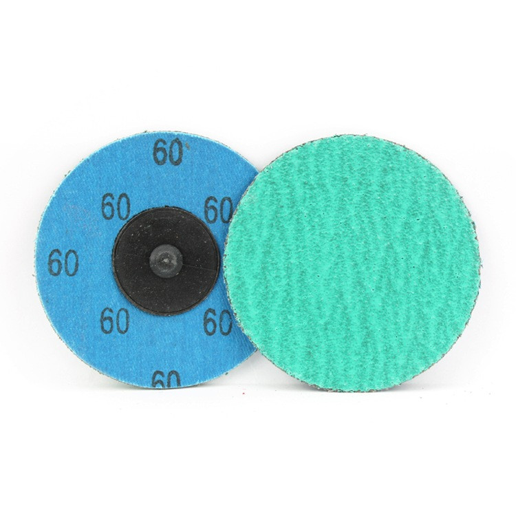 3 Inch Quick Change Discs with Grinding Aid 60 Grit
