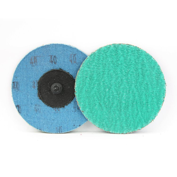 3 Inch Quick Change Discs with Grinding Aid 40 Grit