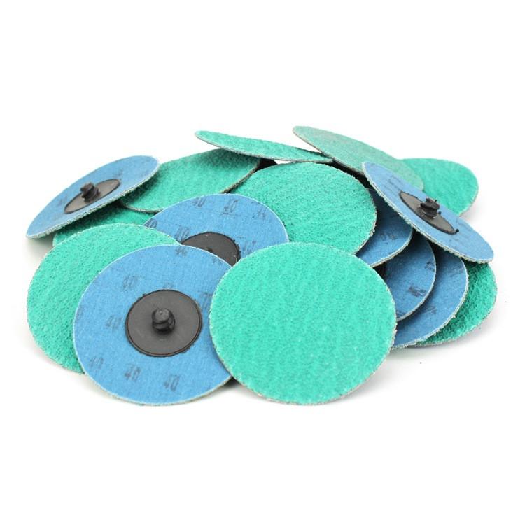 Roloc Sanding Disc Green Zirconia