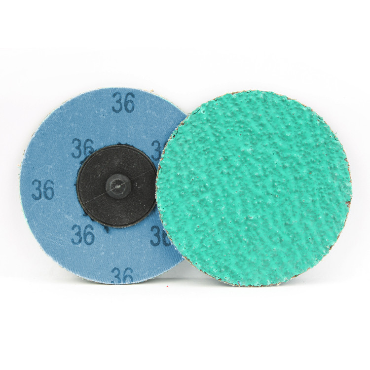 3 Inch Quick Change Discs with Grinding Aid 36 Grit