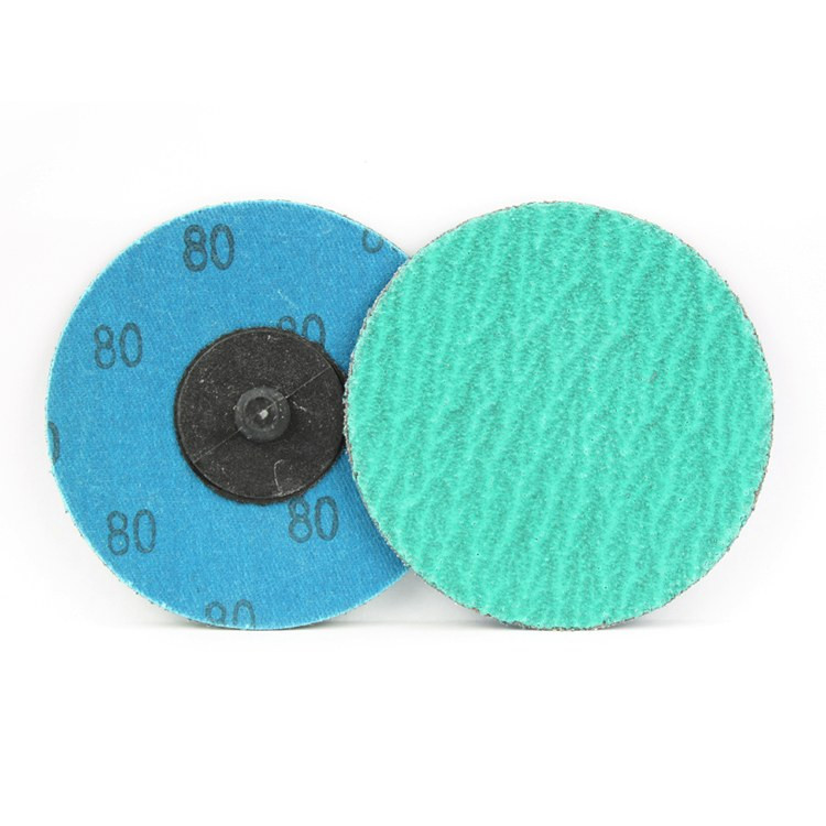 3 Inch Quick Change Discs with Grinding Aid 80 Grit