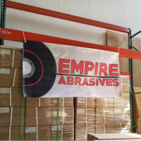 Empire Abrasives  Vinyl Banner 2' x 4'