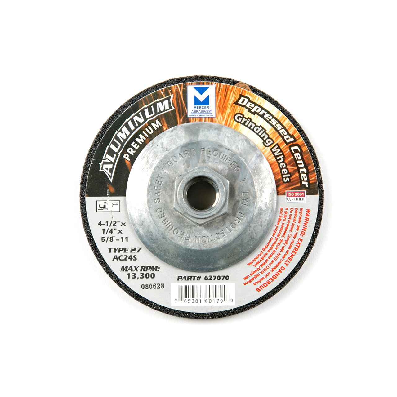 Aluminum Grinding Wheel with Hub