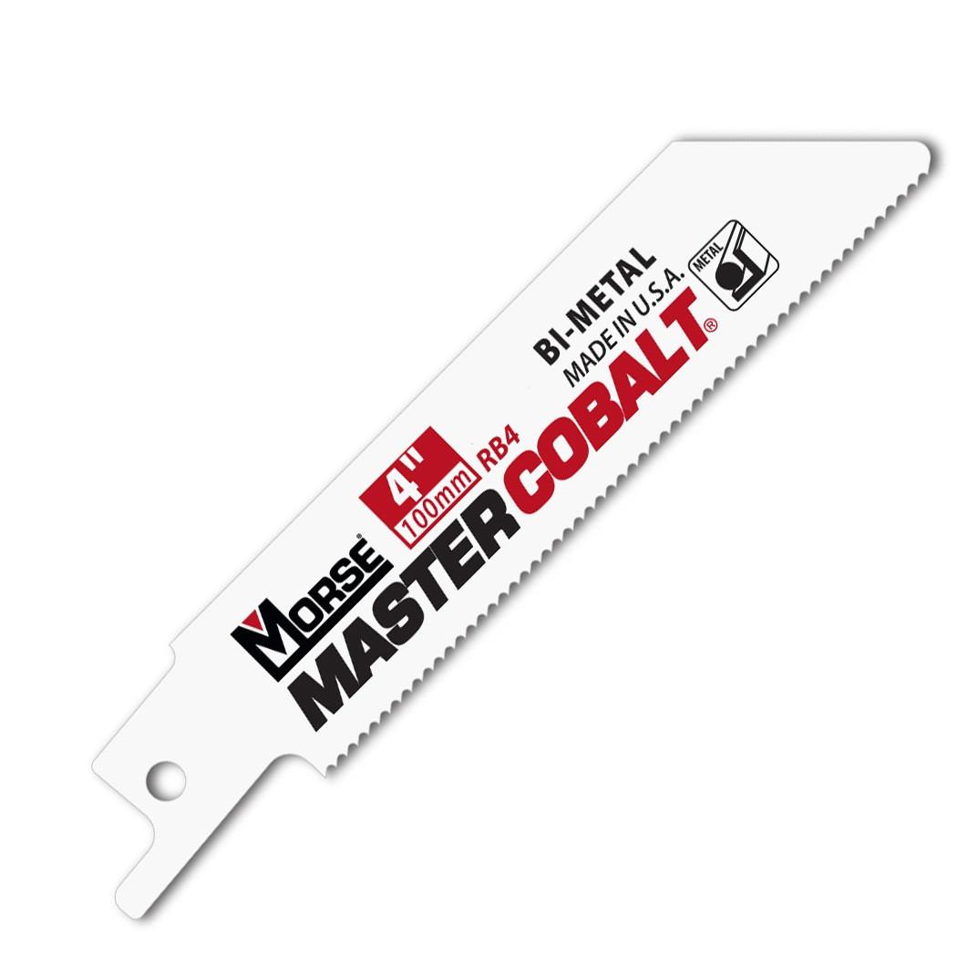 RB424 - 4 Inch Master Cobalt Reciprocating Blade for Metal 24 TPI