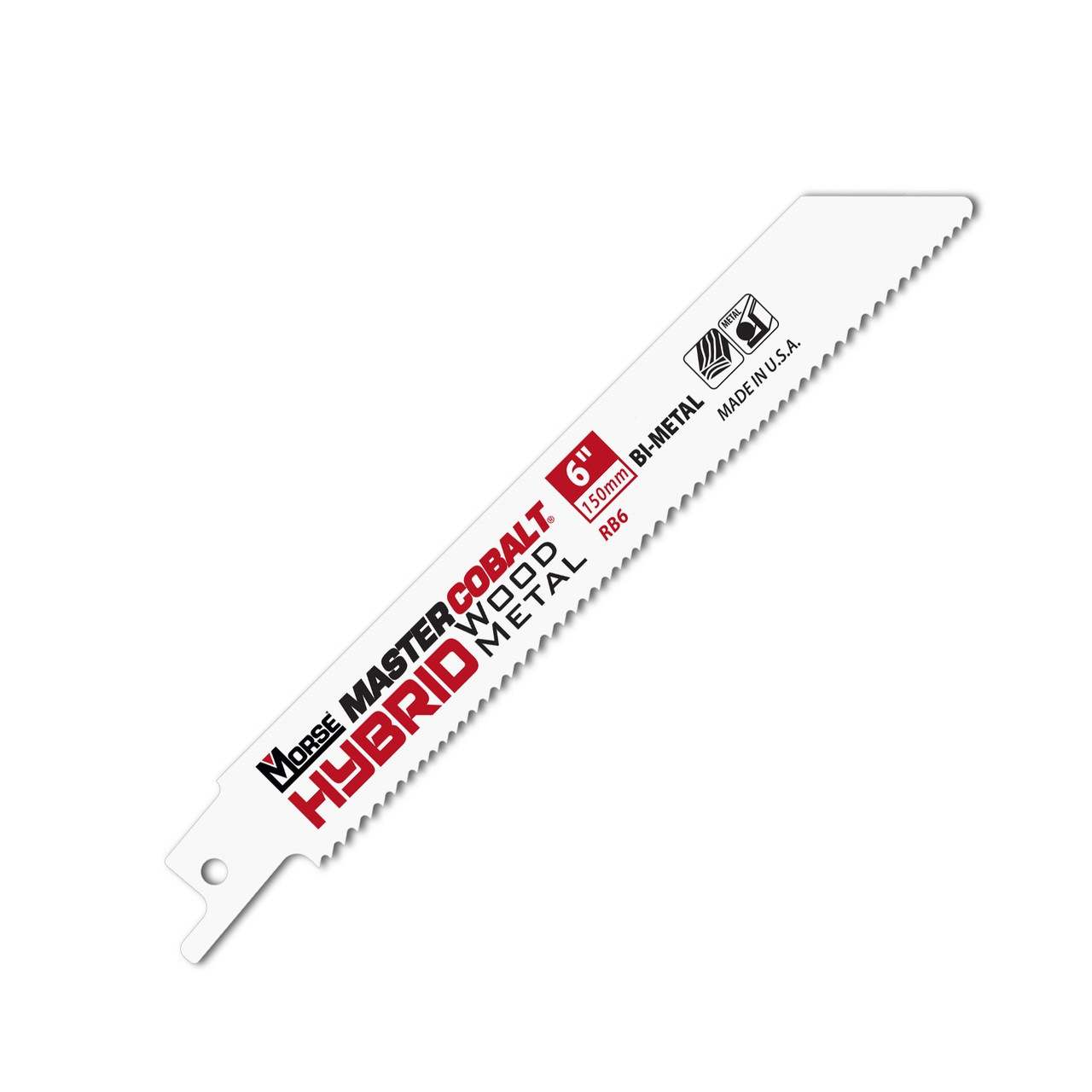 6 inch sawsall blade for wood or metal
