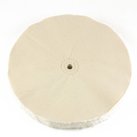 10 inch extra thick 60 ply loose muslin cotton buffing wheel