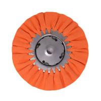 8 inch orange airway buff