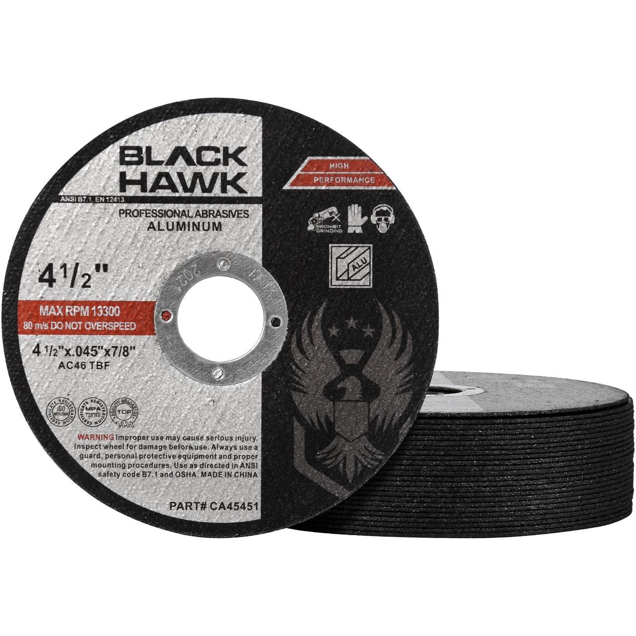 4-1/2 aluminum cut off wheel