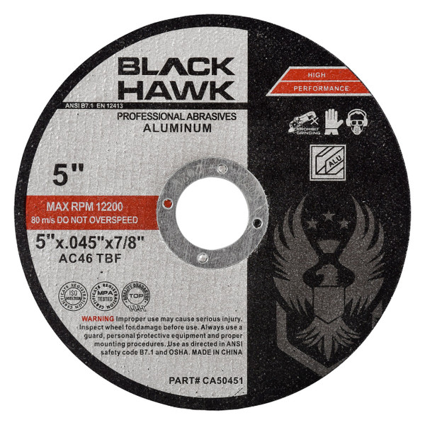 5 inch cutting disc for aluminum