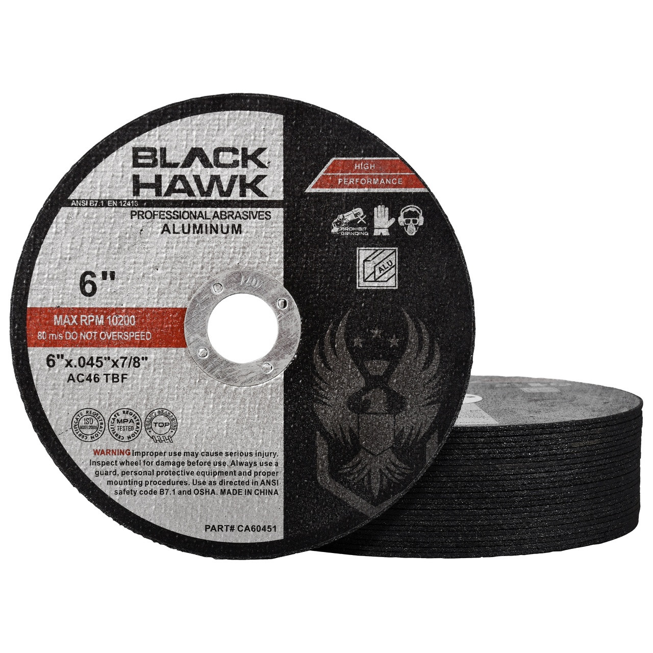 "6"" aluminum cutting disc"