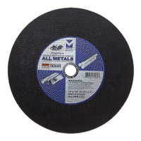 "12"" x 1/8"" (5/32"") x 1"" High Speed Portable Gas Saw Cut-Off Wheel"