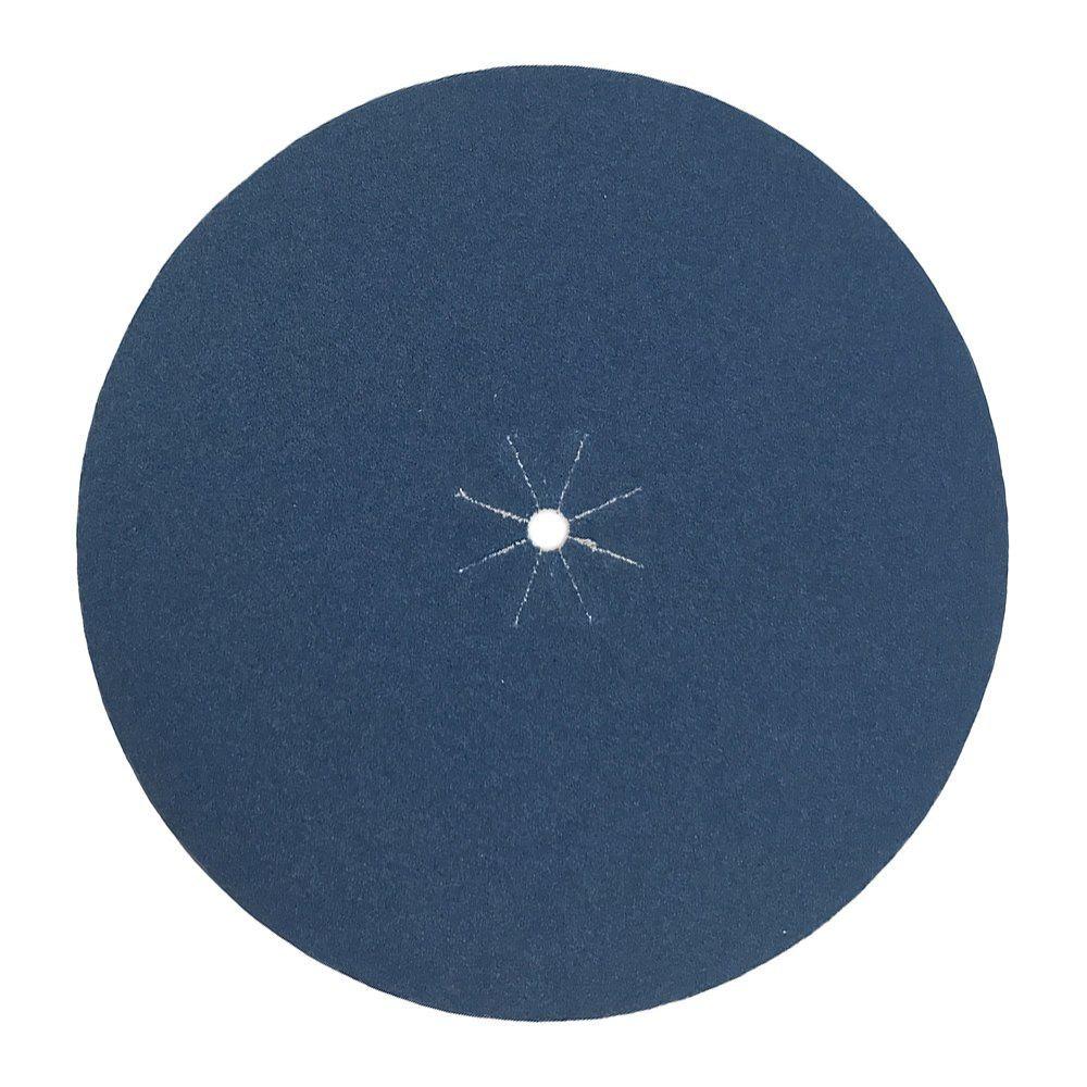 """Mercer 7"""" x 5/16"""" Hole Zirconia Floor Sanding Cloth Edger Disc"""