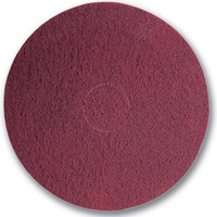 "18"" x 1/4"" Between-Coats Finishing Pads Maroon"