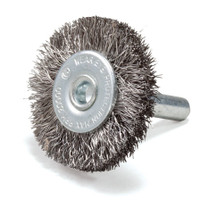 Crimped Wire Wheel with Shank Non Magnetic