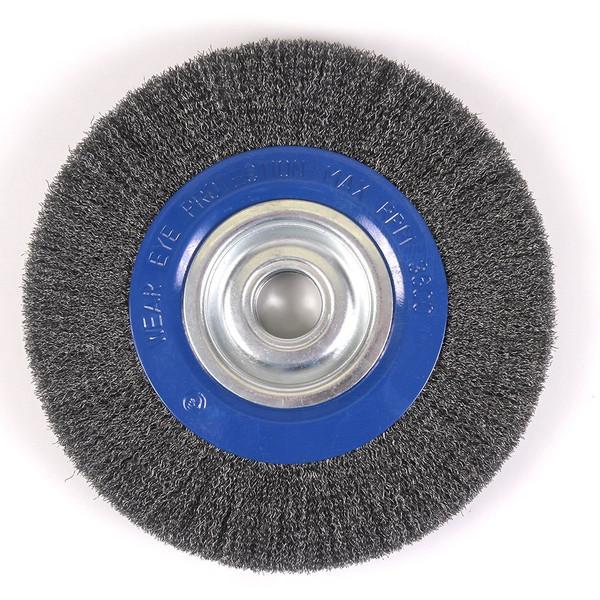 """10"""" Crimped Wire Wheel for Pedestal Grinder"""