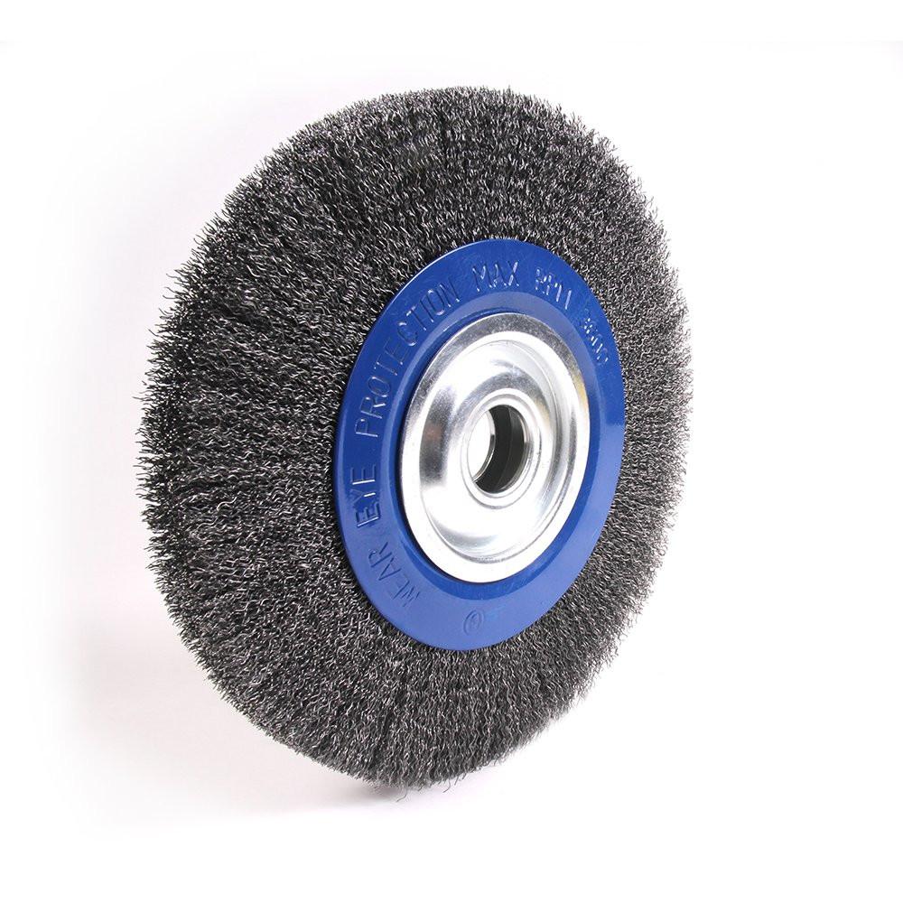 "12"" Crimped Wire Wheel for Pedestal Grinder 183050B"