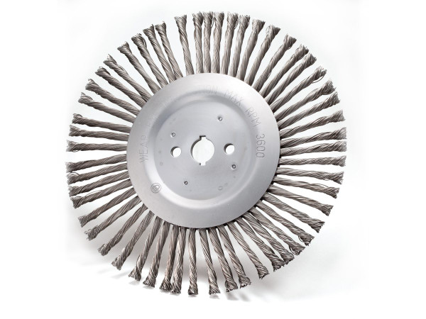"""12"""" Expansion Joint Wire Wheel"""