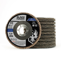 "Black Hawk 4-1/2"" x 7/8"" Flap Disc Type 27 - 10 Pack"