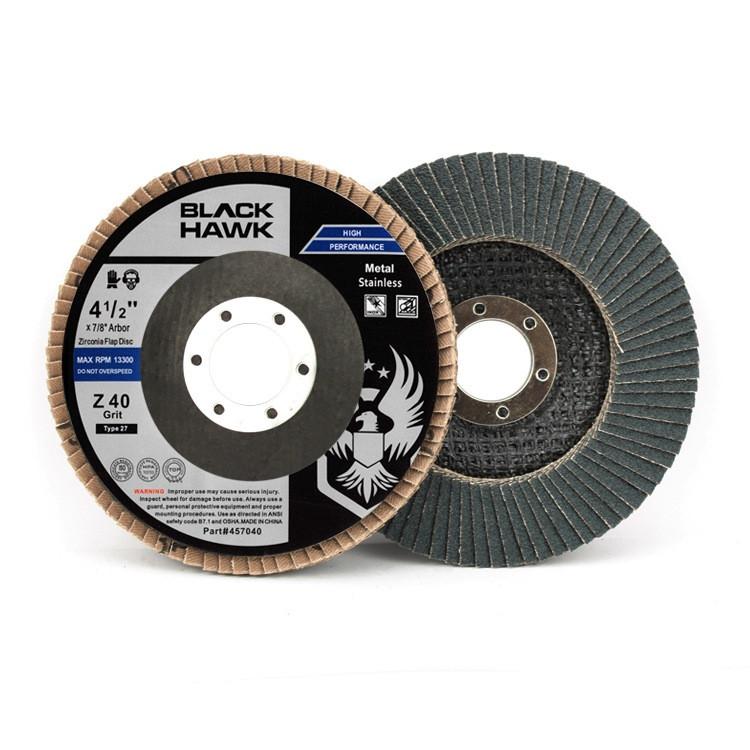 40 grit flap disc