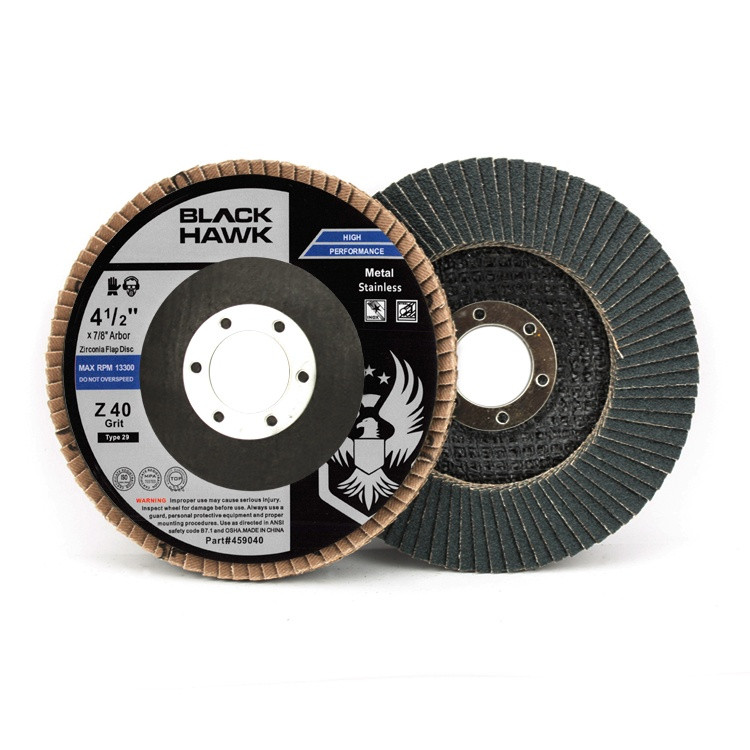 40 grit zirc flap disc
