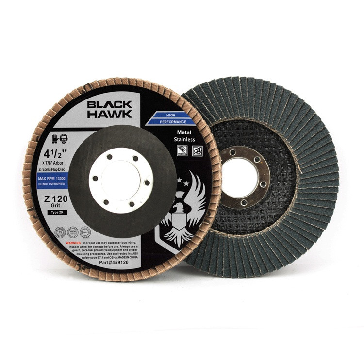 120 grit zirc flap disc