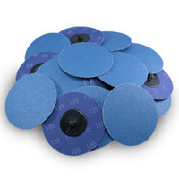 "3"" Quick Change Zirconia Disc - 25 Pack"