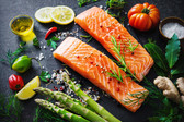 Fresh Salmon Fillet - North Atlantic - 1 lb Cut