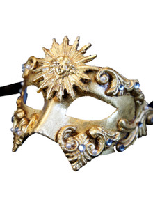 Venetian mask Colombina Sole