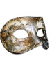 Authentic Venetian mask Colombina Musica Stucco