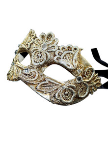 Authentic Venetian mask Colombina Mac