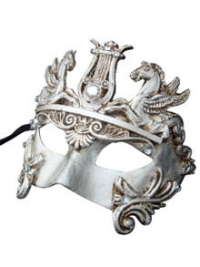 Venetian mask Colombina Cavalli