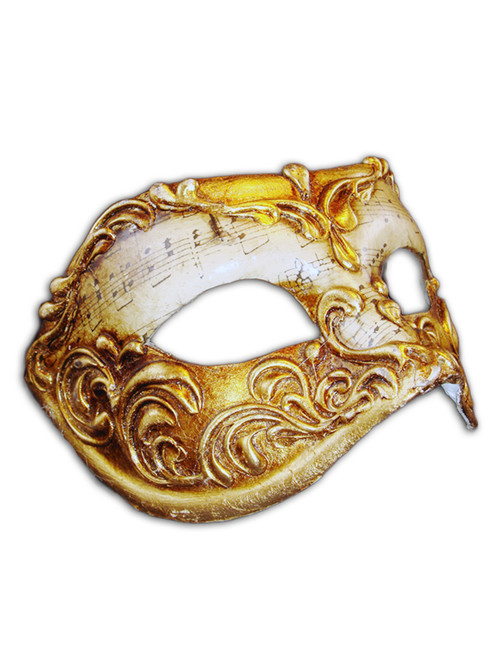 Authentic Venetian mask Colombina Capriccio