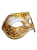 Authentic Venetian mask Colombina Capriccio