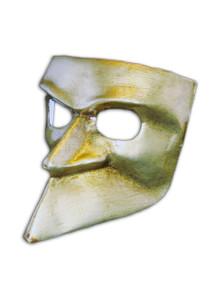 Venetian mask Bauta Metallo
